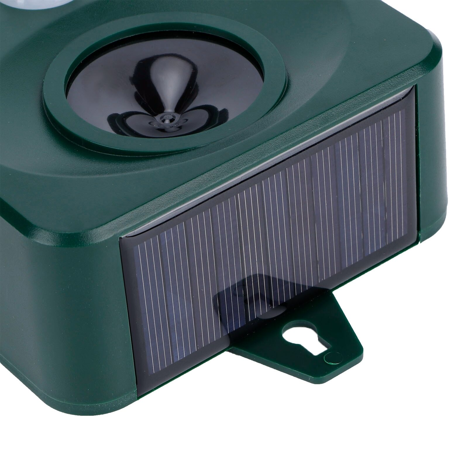 Solar Bird Repellent Outdoor USB Ultrasonic Mouse Insect Repeller With LED GF