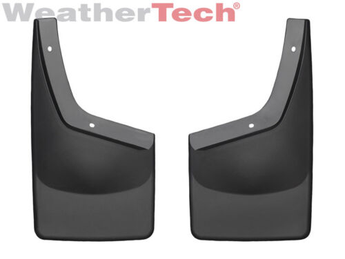 No//FF 2011-2016 WeatherTech No-Drill MudFlaps for Ford F-250//350 Front Pair