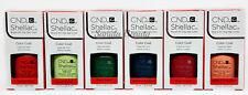 CND Gel Polish .25oz - All 6 shades from RHYTHM & HEAT Shellac - 91583-91588