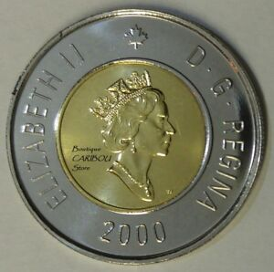 1998 W Canada Proof-Like Winnipeg Loonie
