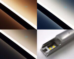 Alu-Neon-Diffus-Superhelle-Hoch-CRI-90-LED-Leiste-140xleds-1300LM-m-24V