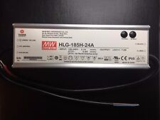 Mean Well HLG-185H-24 Aire Acondicionado//fuente de alimentación de corriente directa Single-out 24 V 7.8 A 187.2 W 5-Pin Nuevo