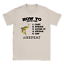 How To Catch Fish Mens T-Shirt Fishing Funny Joke Gift For Dad