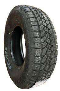 2 New Tires 265 70 17 Advanta All Terrain 10 Ply OWL 50,000Mile LT265/70R17 USAF