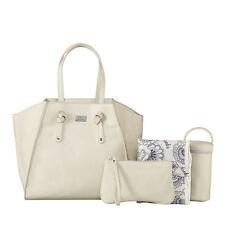 Isoki Easy Access Tote Nappy Bag - Brighton Ivory