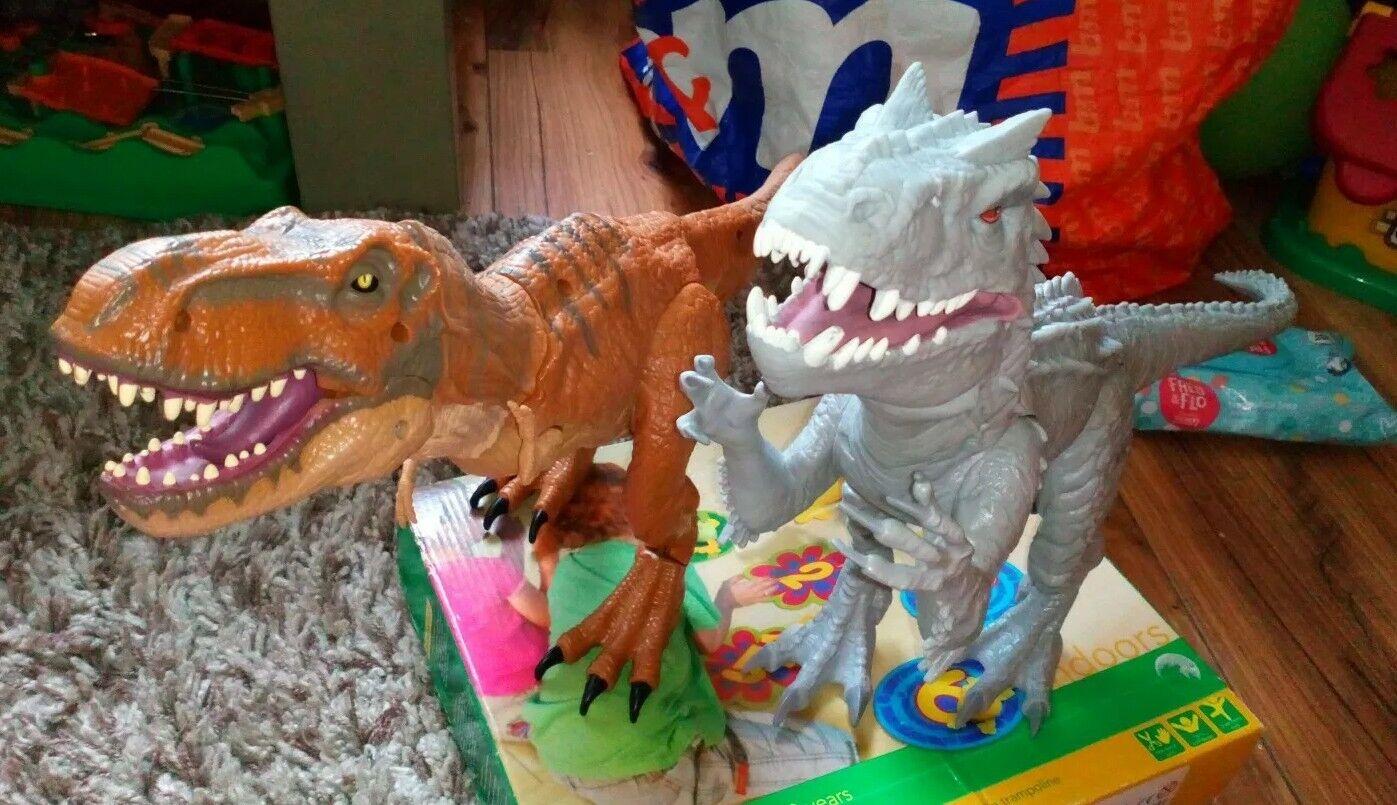 Jurassic World Indominus Rex Toy Figure Lights & Sounds