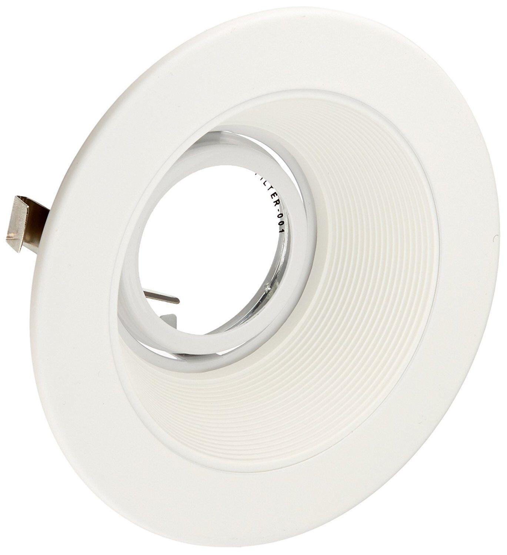Recessed Lighting Baffle Trim 6 Pack