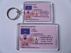SPONGEBOB SQUAREPANTS Keyring or Fridge Magnet = ideal gift idea !!!!!!!!!!!!