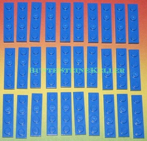 30 Stück blaue 1/3 Steine 3710 SK42 TOP ! PLÄTTCHEN 1X4