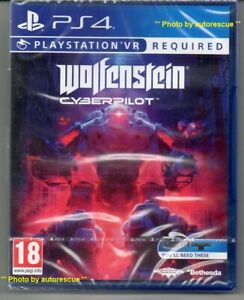 Wolfenstein-cyberpilot-VR-PS-VR-richiesta-034-NUOVO-amp-Sealed-039-PS4-quattro