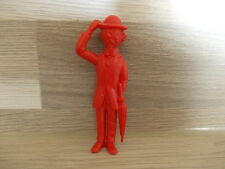 Oude figuur in plastiek Esso - Kuifje - Tim - Tin Tin - Professor Zonnebloem