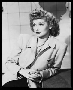 I Love Lucy - Lucille Ball Signed & Inscribed 8x10 Photo