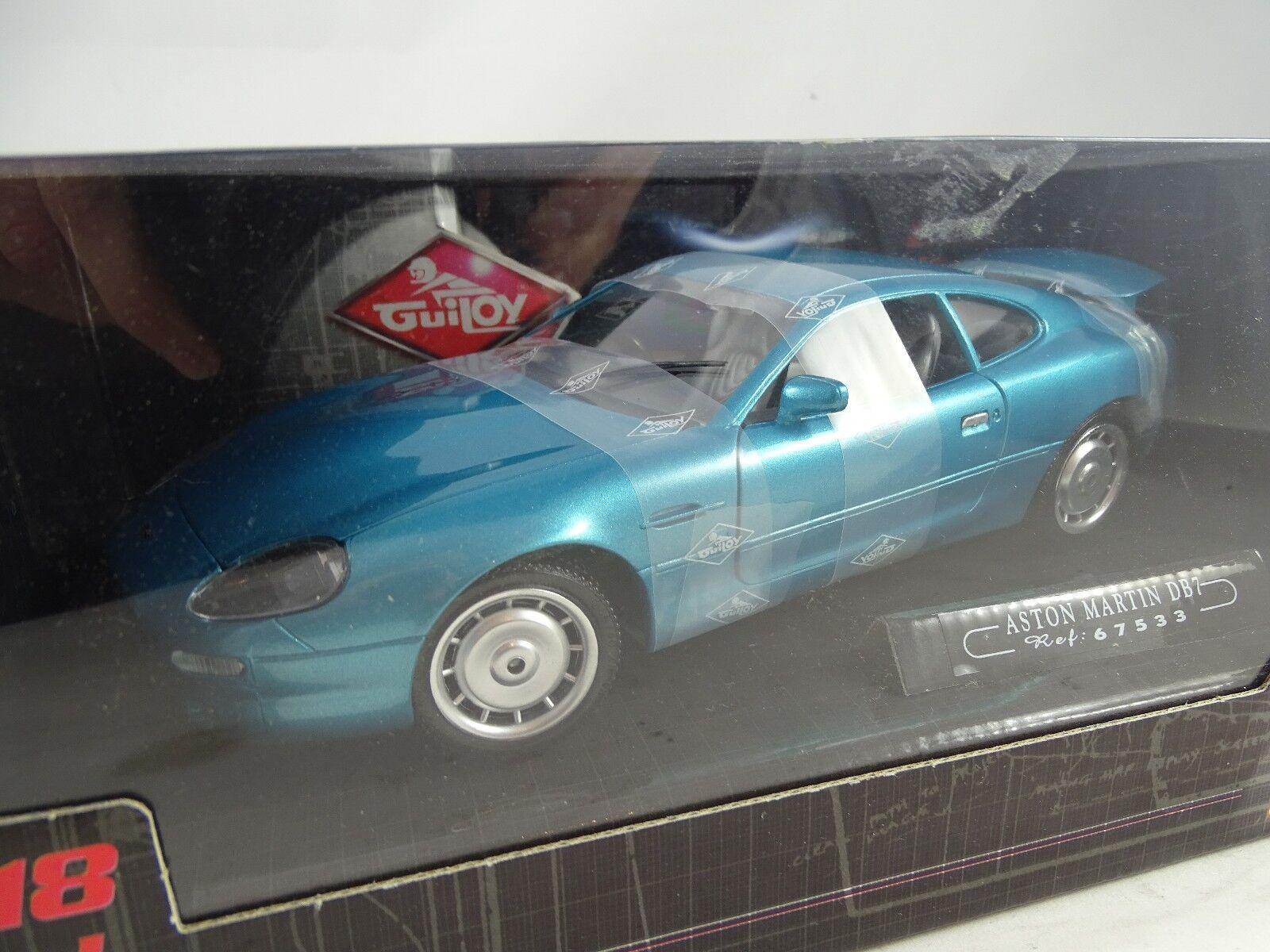 1 18 Guiloy Aston Martin DB7  türkisblue RARITÄT §