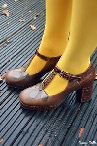 Clarks tamaño Orla Eur Kiely 7 41 en Unido marrón Reino zapatos Abigail 5qfwUqZ