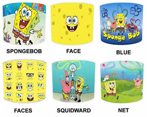 Lampshades Ideal To Match Spongebob Squarepants Duvets Spongebob - Spongebob room decals
