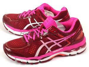 Chaussures Cushioning de course Asics Gel Kayano 22 2432 Cushioning Gel Deep Ruby/ White/ Pink 3f5fbf0 - bokep21.site