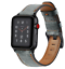 thumbnail 15 - Dark Brown Genuine Leather Strap for Apple Watch 42mm/44mm Series 1,2,3,4,5,6,SE