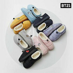 BTS-BT21-Official-Authentic-Goods-Cutie-padding-Winter-Slipper-Tracking