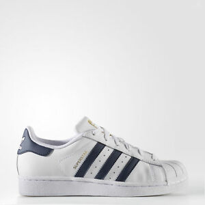 New adidas Originals Superstar Shoes S81014 Kids' White Sneakers