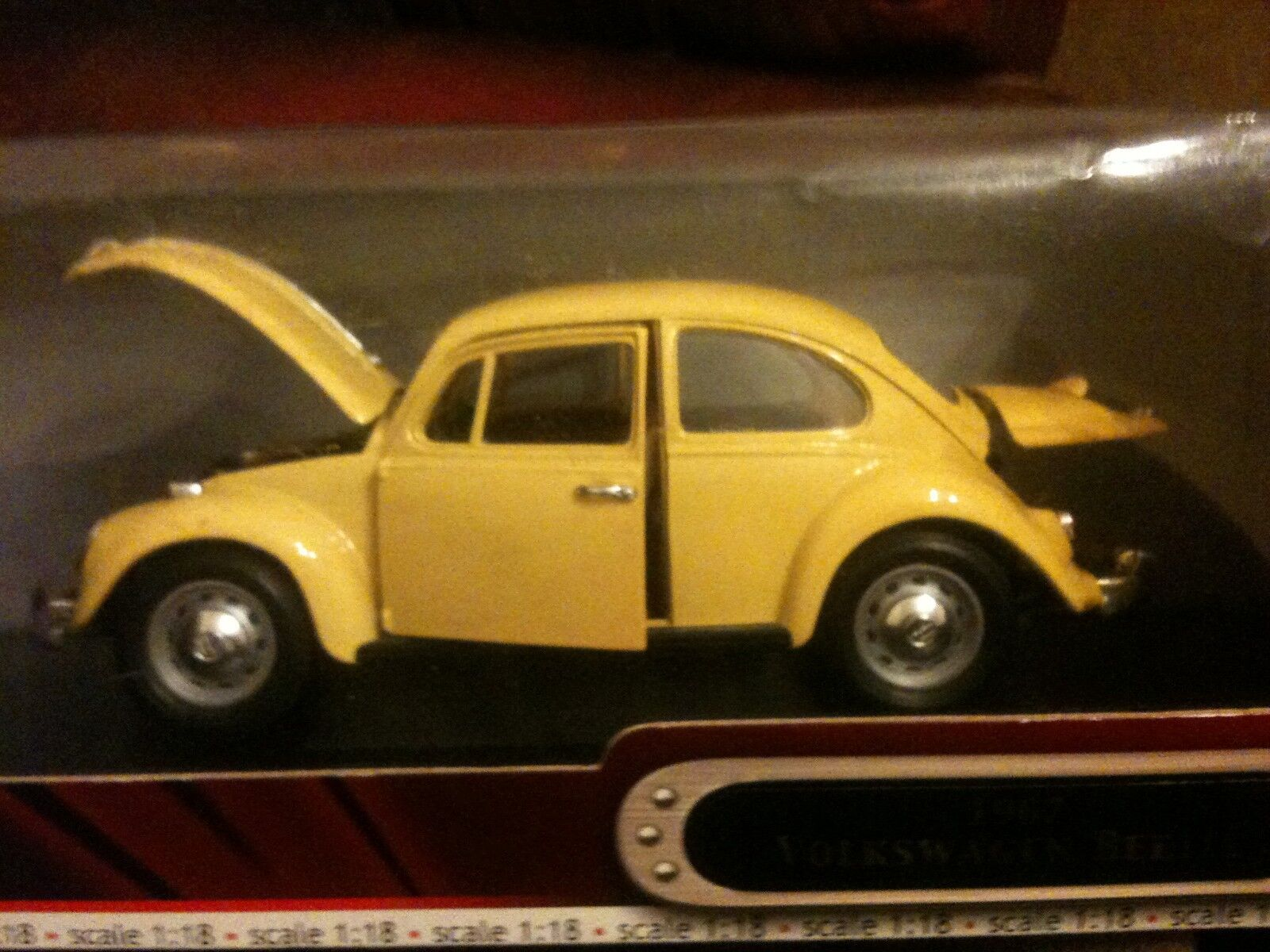 1967 VOLKSWAGEN BEETLE CAR DIE CAST METAL DELUXE EDITION QUALITY HAND MADE