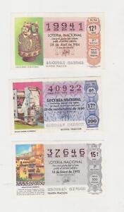 LOTE-DE-50-NUMERO-DE-LOTERIA-DEL-1-984-1-980-1992-DIFERTES-AUTENTICOS
