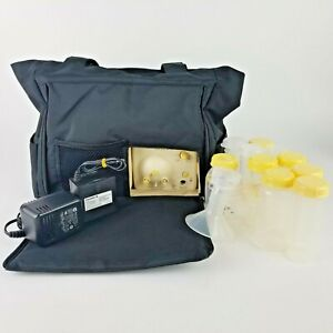 Medela Pump In Style Advanced Double Electric Breast Pump On The Go Tote Pack Ebay