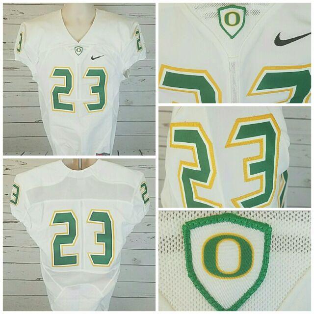 Nike Men's L University Oregon Ducks Football Game Mach Speed Jersey $160 PAC 12