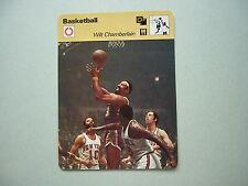 1977 1977/79 SPORTSCASTER NBA BASKETBALL PHOTO WILT CHAMBERLAIN PHILADELPHIA