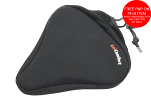 Soft Bicycle Saddles Comfort Seat Wide Big Bum Gel Pad Bike Replace Seat MTB New