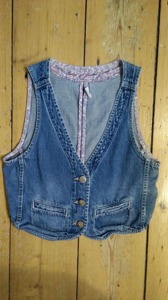 Vest, Cowboyvest, H&M