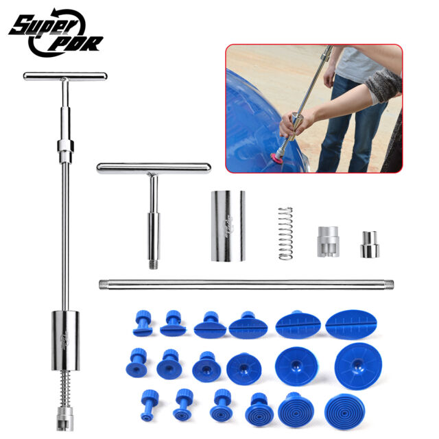 PDR Tools Dent Puller Slide Hammer Auto Body Paintless Dent Removal Repair Set
