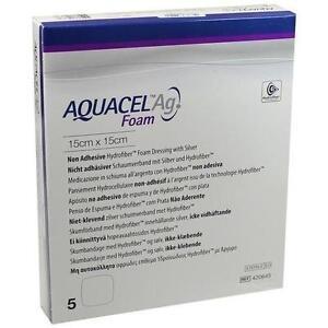 AQUACEL-Ag-Foam-nicht-adhaesiv-15x15-cm-Verband-5-St