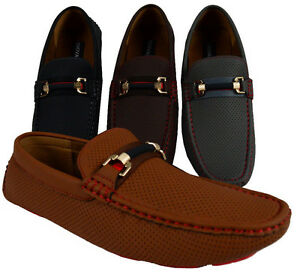 MEN'S GIOVANNI SHOES DRESS LOAFER CASUAL SLIP-ON PROM FORMAL WEDDING MOCCASIN