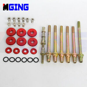 Engine-Valve-Cover-Washer-Bolt-Low-Profile-FOR-Acura-Honda-K-Series-K20-K24-RED
