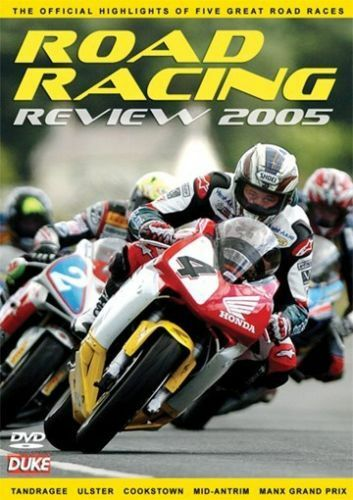 1 of 1 - Road Racing review 2005 (New 2 DVD set) Ulster GP Manx GP Cookstown 100