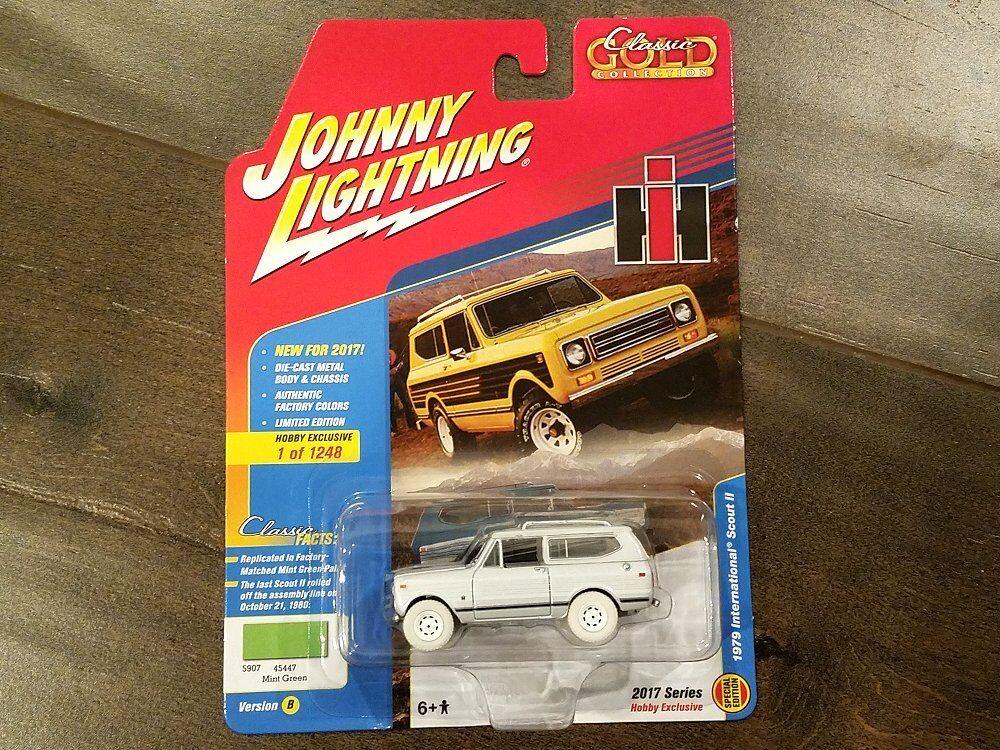 ordenar ahora Johnny Lightning 1 64 1979 1979 1979 International Scout Ii Diecast jlcg 005-B coche Chase  presentando toda la última moda de la calle