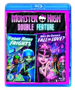 Monster-High-Friday-Noche-Sustos-Why-Do-Ghouls-Fall-IN-Love-Blu-Ray-Nuevo-Azul