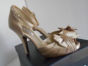 d600732372ed5f Image is loading Nina-Ella-Platform-Ankle-Strap-Sandals-Gold-Royal-