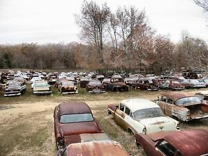 Vintage Auto Junk and Salvage 1950s 1960s cars 8 x 10 ...1950s Cars For Sale Ebay