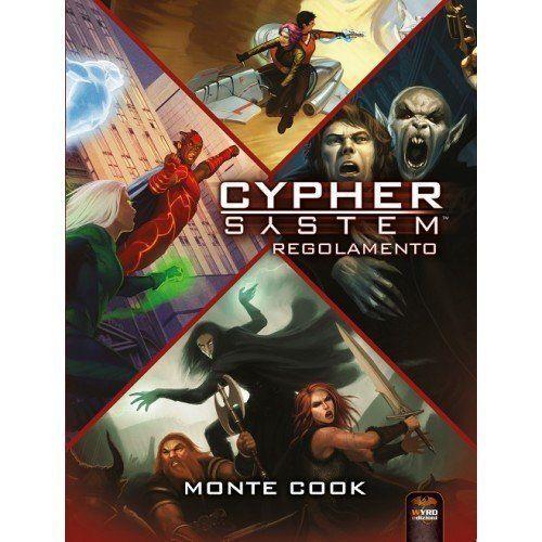 GDR -  Cypher System Regolamento - Wyrd Edizioni - ITALIANO NUOVO Spedizione 24h   miglior servizio