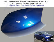 CHROME BLUE Wing Mirror Cover left Ford Transit Custom 2012  Onwards N//S
