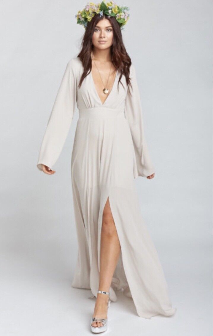 NEW Show Me Your Mumu Venus Long Sleeve Flare Dress Show Me The Ring X-Large XL