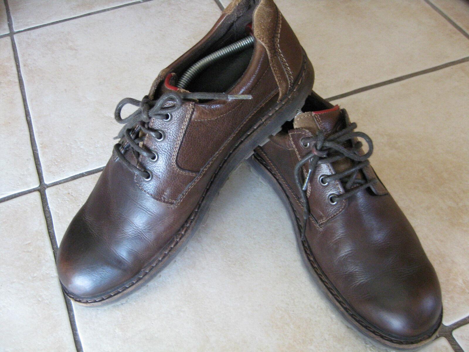 CAMEL active Halbschuhe, Schuhe, 12) Lederschuhe Gr.47 (UK 12) Schuhe, braun e3c187
