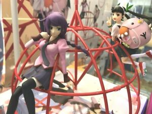 MONOGATARI-series-Senjogahara-Hitagi-Hachikuji-Mayoi-Figure-set-TAITO-From-JAPAN