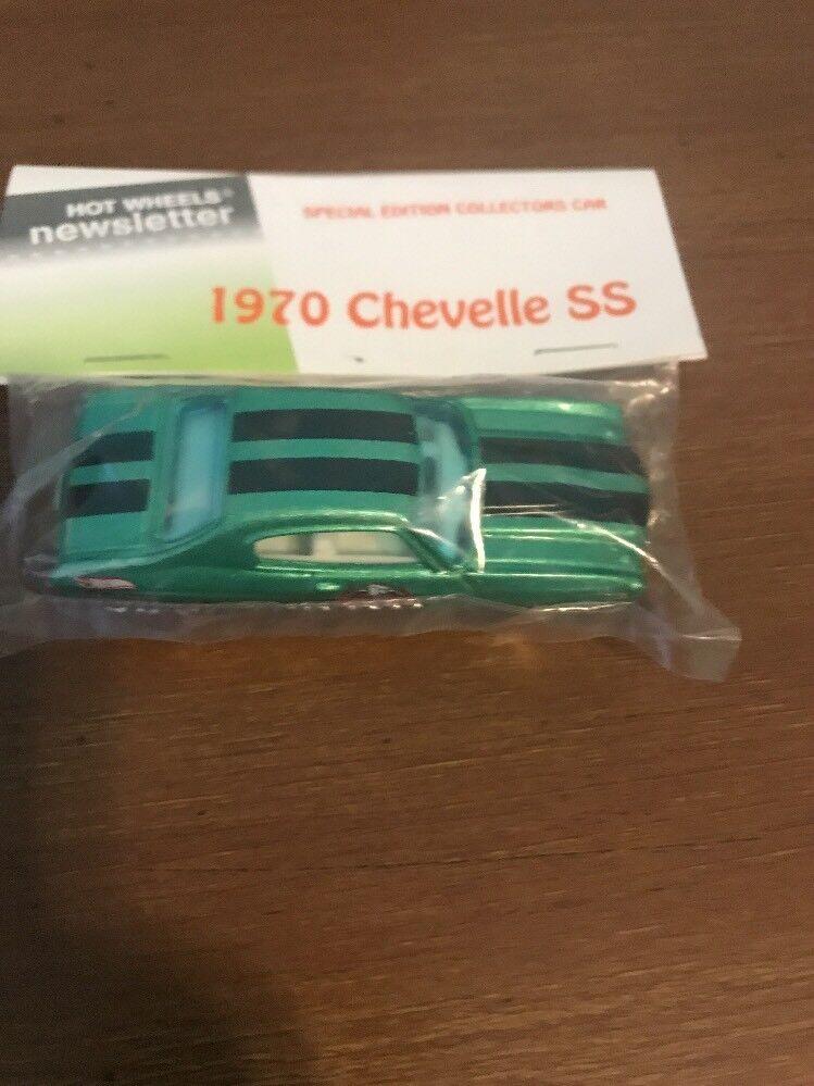 Boletín De Hot Wheels Bolsa con los nacionales 8th 2008 1970 nero verde Chevelle Ss
