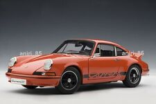1:18 AutoArt 78054 Porsche 911 Carrera RS 2.7 1973 Orange/Black Stripes, NEU&OVP