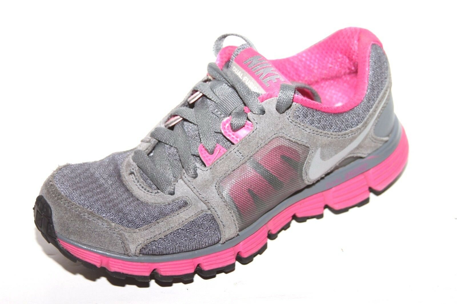 NIKE 454240-006 Dual Fusion ST 2 Grey/Pink Women's Comfortable Brand discount