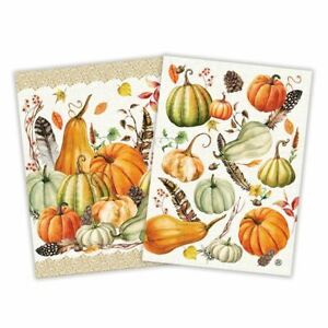 Michel Design Works Sweet Pumpkin Kitchen Towel Gift Set Set Of 2 Ebay
