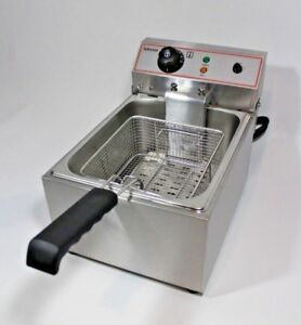 New-Infernus-3KW-10L-Electric-Deep-Fryer-Fat-Chip-Commercial-Counter-top