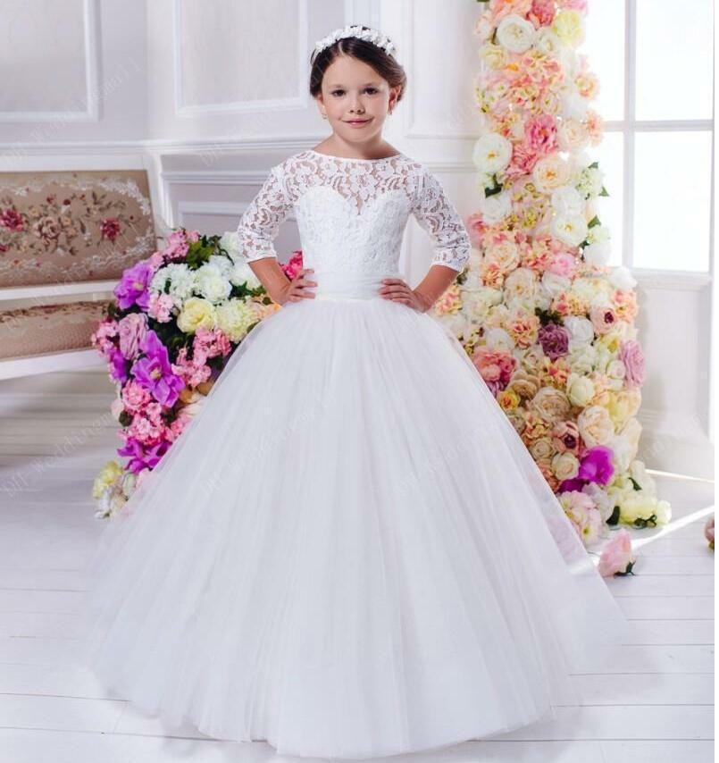 Flower Girl Dress Wedding Bridesmaid Birthday Pageant hot Graduation Princess